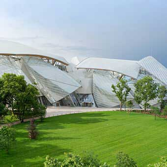 Eiffage Métal | Fondation Louis-Vuitton | Photo credits : Eiffage/Iwan Baan 2014 for Gehry partners LLP